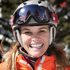 Megan Brown Brent: Two-time NCAA All-American, 2000 Skiercross World Champ, ski model - ©Liam Doran