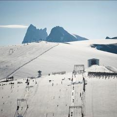 La ligne de départ du Mountain of Hell 2013 sur le glacier des 2 Alpes - ©Copyright Rupert Fowler