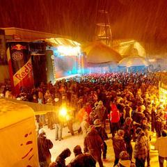 Rave on snow in Saalbach-Hinterglemm