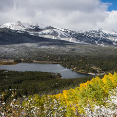 It's only September, and Breck already looks prime to ski
