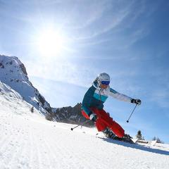 Sonnenschein beim Skitest 2014 - ©nskiv/wintersport.nl