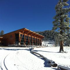 Snow at Heavenly's Tamarack Lodge 9.22.13