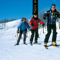 Learn to ski at Crystal Mountain, MI