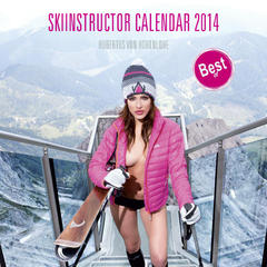 2014 Female ski instructor calendar