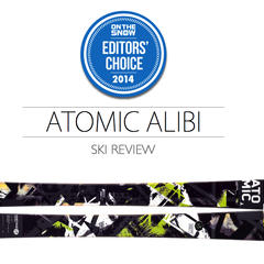 2014 Men's All-Mountain Ski Editors' Choice: Atomic Alibi