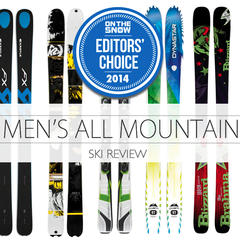2014 Men All-Mountain Editors` Choice Skis