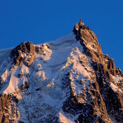 Best ski lifts: the Aiguille du Midi ski lift in Chamonix, France.