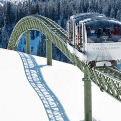 Best ski lifts: the Tschuggen Express in Arosa, Switzerland.