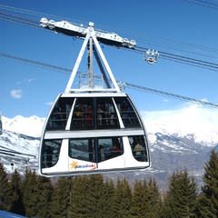 Best ski lifts: the Vanoise Express in Paradiski.