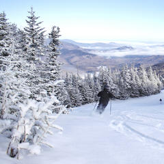 Big views and soft turns at Wildcat Mountain.