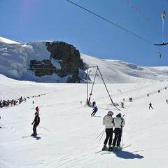 Cervinia, Valle d'Aosta is open! Oct. 19, 2013 - ©Cervino Spa