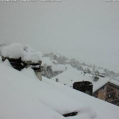 Fresh snow in Livigno, Italy Oct. 12th, 2013