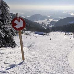 Nové Pláně - Ještěd - © Ski Ještěd