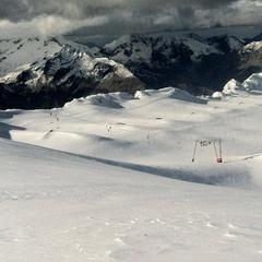 Les 2 Alpes snowpark is looking good ahead of opening this weekend - ©Les 2 Alpes Tourism