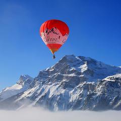 Vol en montgolfière aux Carroz - ©OT Les Carroz