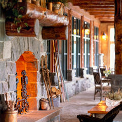 Meeting space at Whiteface Lodge  - ©Whiteface Lodge
