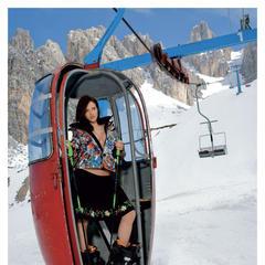 Maestre di Sci 2014 - Miss Luglio - ©Hubertus Hohenlohe/www.skiinstructors.at
