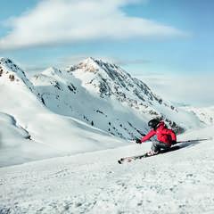 Skifahrer in Kitzbühel - ©medialounge