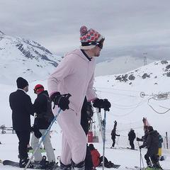 The onesie on the slopes - ©Ross Huggett