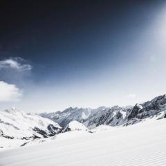 Wilde Grube Abfahrt am Stubaier Gletscher - ©Stubai Glacier Ski Centre