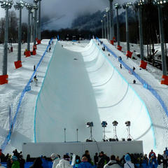 Rosa Khutor Olympic halfpipe - ©Brian Pinelli