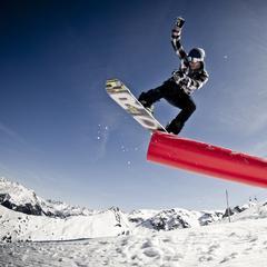 Snowpark Montafon - ©Silvretta Montafon /Daniel Zangerl