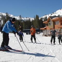 Eerste skilessen: een goed begin