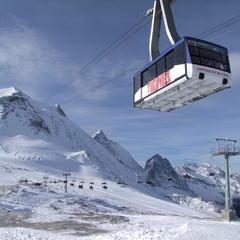 Taking the cable car up to Tignes' Grande Motte Glacier - ©Tignes