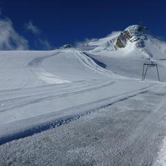 Damage glacier tignes - ©Service des pistes de Tignes