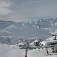 Val d'Isère op 5 november 2013