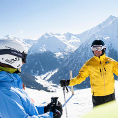 Winter in Valle Isarco, Sudtirol