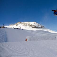 Zillertal Valley Ralley hosted by RIDE Snowboards on the Hintertux glacier, Oct. 29, 2013 - ©Hintertux glacier