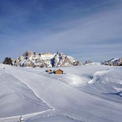 Beautiful scenery on the Sella Ronda in Alta Badia, Dolomites - ©Alta Badia