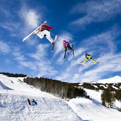 Breck big air - ©Breckenridge Ski Resort