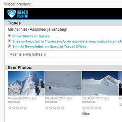 De Skiinfo Snow Alert Widget – met deze handige tool blijven skiërs altijd op de hoogte van de laatste sneeuwval