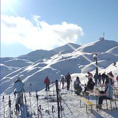 Fresh snow in Vogel, Slovenia.  - ©Credit Mitjamavsar