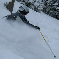 Whitefish Mountain Resort: All the Powder, None of the People - ©Becky Lomax