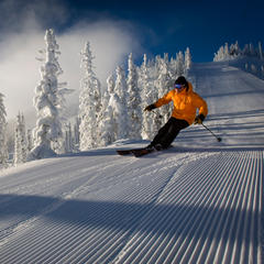 Intermediate groomers at Red Mountain. - © ©heath