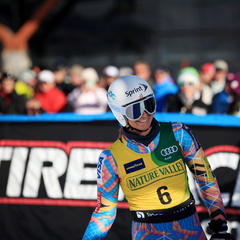 Julia Mancuso all smiles - ©Sarah Brunson/U.S. Ski Team