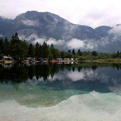 Lake Bohinj, Slovenia. Credit Neiljs