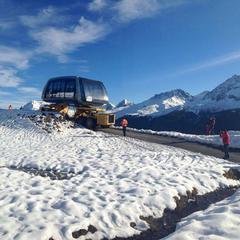 New cable car Arosa Lenzerheide  - ©Facebook Arosa Snowpark Switzerland