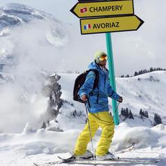 Ski sans risques sur les pistes des Portes du Soleil - ©Nicolas Joly