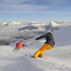 Skifahrer in Serfaus Fiss-Ladis - ©Tourismusverband Serfaus-Fiss-Ladis / Sepp Mallaun