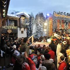 RTL2 Après Ski Hits at the Mooserwirt in St Anton
