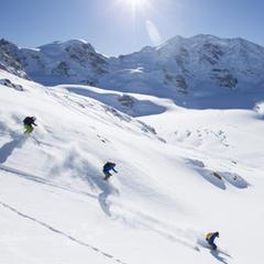 Skiing St. Moritz - ©swiss-image.ch/Andrea Badrutt
