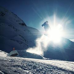 Snowpark Kaunertal - ©Stefan Drexl