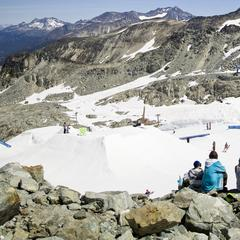 Summer skiing on Horstman Glacier - © Dano Pendygrasse/Whistler Blackcomb