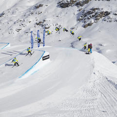 Thrilling big-air contest held on Corwatsch, Engadin St. Moritz.  - © Engadinsnow