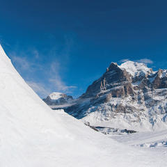 White Elements Pro Park in front of the Eiger's legendary north face, Grindelwald - ©Grindelwald