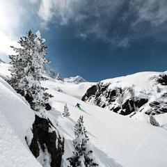 Stubaier Gletscher, Österreich: Freeriden im Powder Department - ©Andreas Schönherr